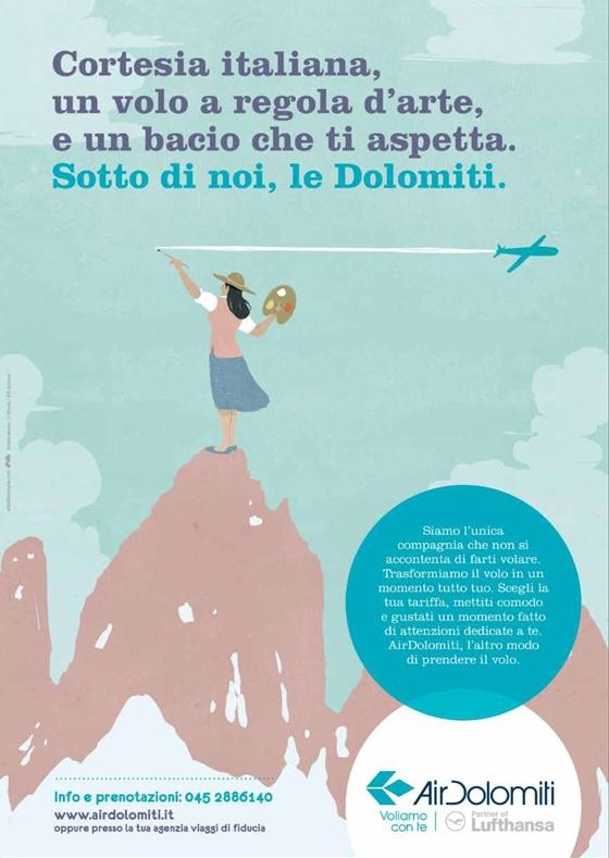 Alessandro Gottardo in arte Shout : Air Dolomiti