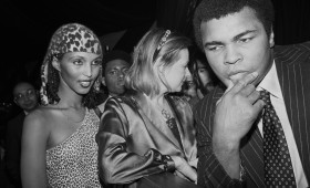 Mohammad Ali at the Roseland Ballroom. New York City, 1980 © Donna Ferrato