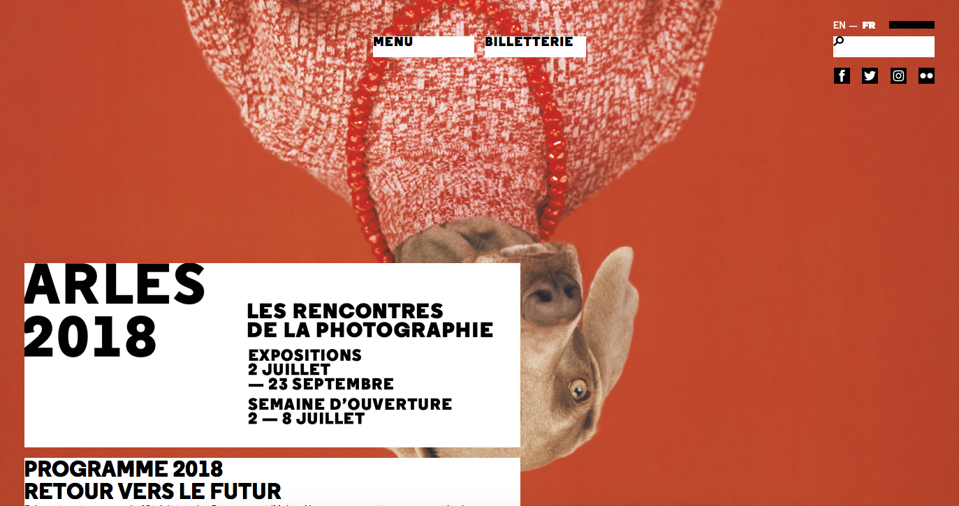 Portfolio review at the Rencontres d'Arles